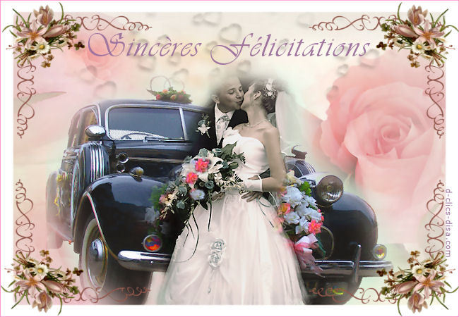 carte de flicitation de mariage - Carte Flicitation Mariage