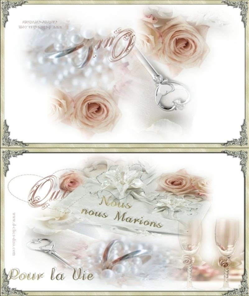 Carte de félicitation de mariage. Faire-part-mariage-a-imprimer-42-d-clics-disa